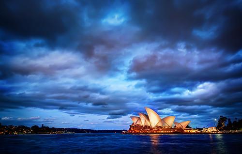 Sydney Glows at Sunset