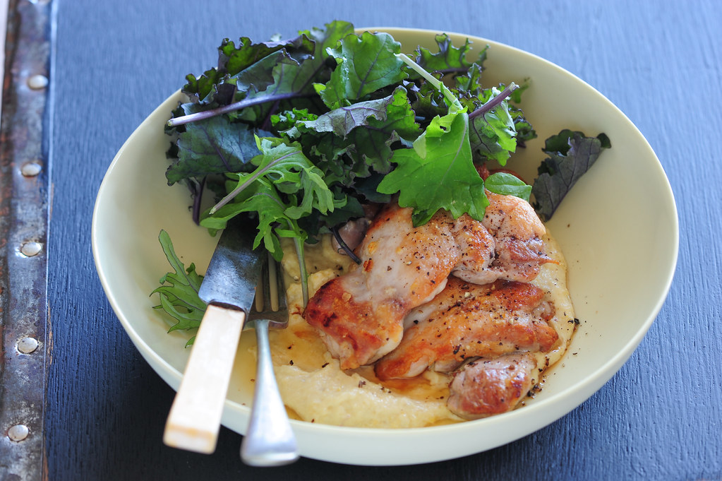 chicken with pine nut sauce-2