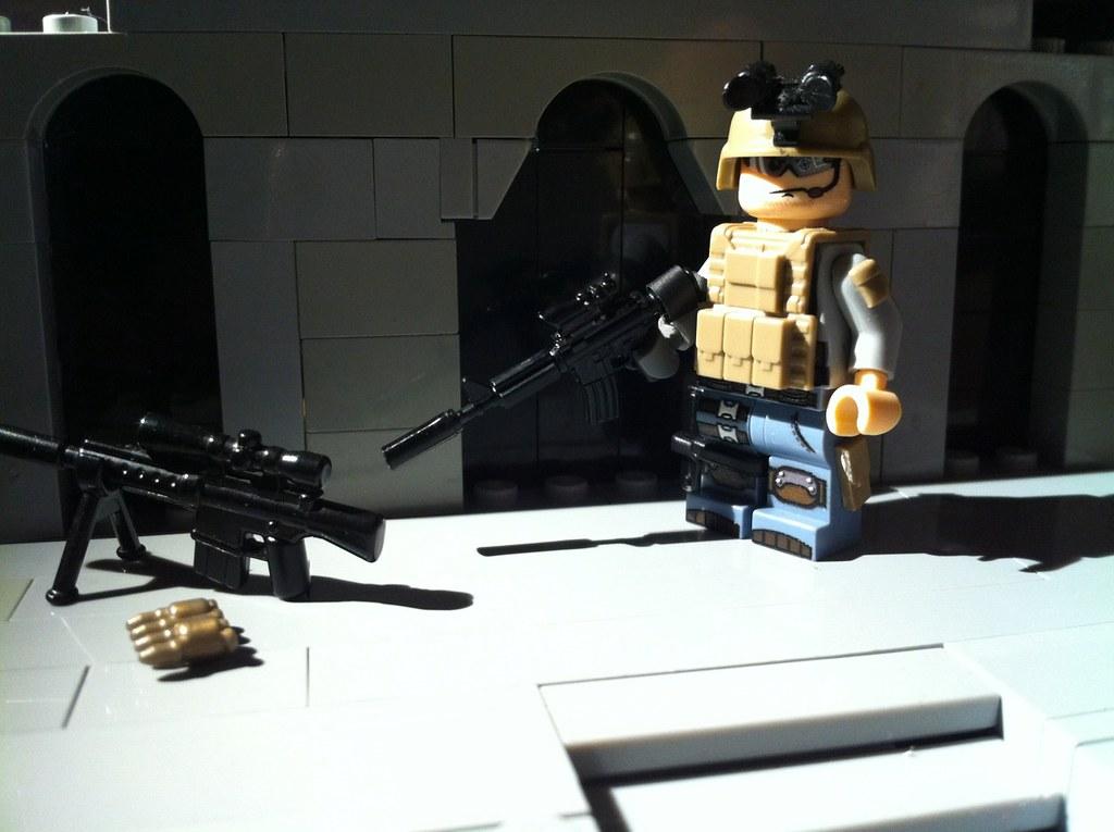 WIP SEAL Team 8 [Urban] | Yeap, updated helmet, added silenc