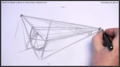 learn how to draw a boat in two point perspective 005