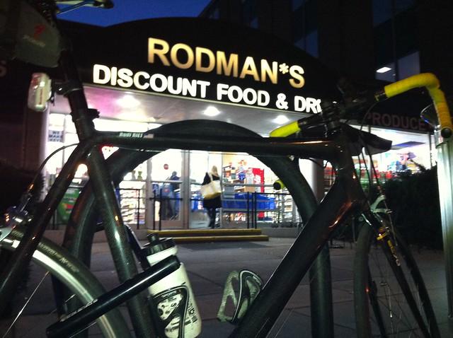The Rudi Projekt outside of Rodman's