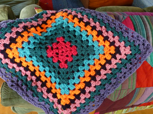 crochet blanket number 2!