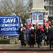 Save Lewisham Hospital protest, February 15, 2013