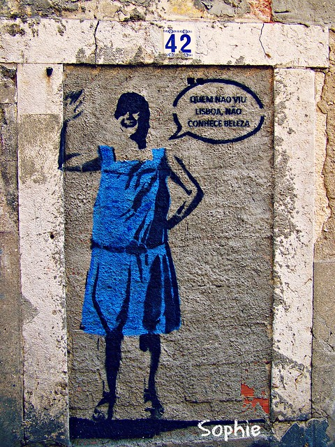 Street Art in Blue