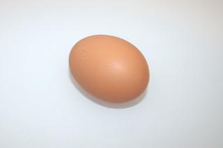 06 - Zutat Hühnerei / Ingredient egg