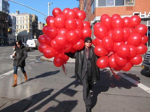 Valentine's Day on Bowery