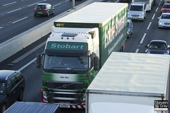 Volvo FH 6x2 Tractor - PX11 BXS - Ellie May - Eddie Stobart - M1 J10 Luton - Steven Gray - IMG_0569