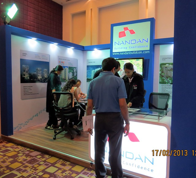 "Nandan - The Times of India Pune Property Exhibition  ""Invest in West Pune""  16th & 17th February 2013"