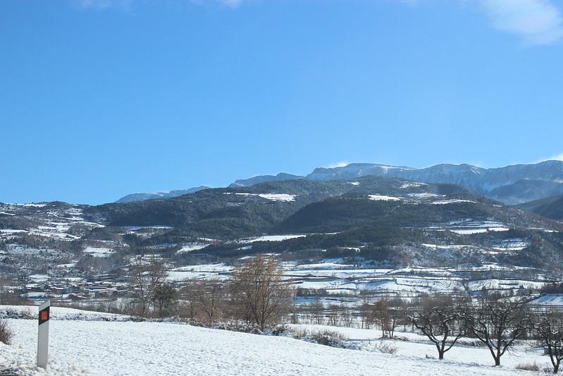 Alàs i la Serra del Cadí