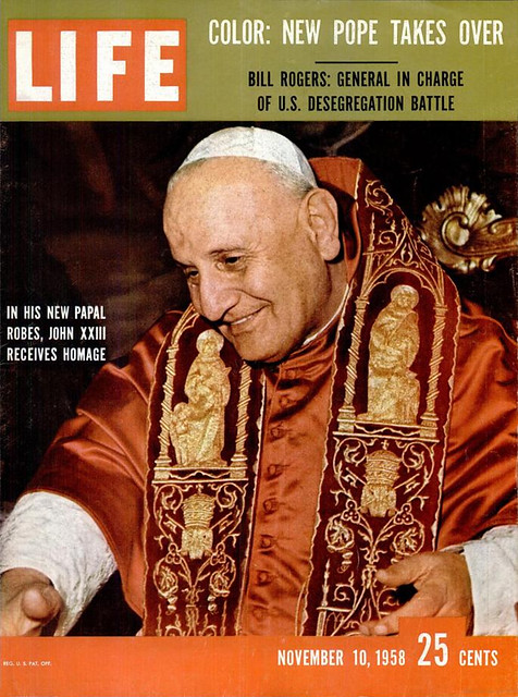 LIFE November 10, 1958 (1) - NEW POPE TAKES OVER