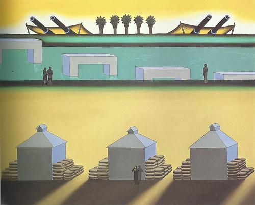 Roger Brown, War Zone, 1971