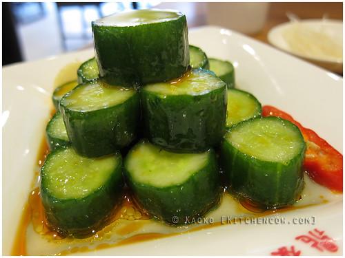 Tasting Taipei - Din Tai Fung Spicy Cucumber