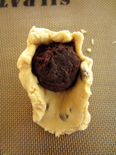 Cupcake stuffed Cookie