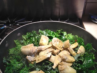 Italian Tortellini with Kale and Artichokes from Buttercream Lane