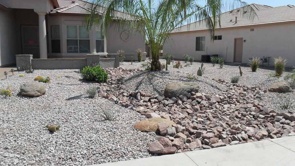 Redesigned front yard landscape with 1   48. Flickr photos tagged desertscaping   Picssr