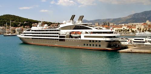 Croatia - Split, cruise ship 'L'Austral' by Biffo1944