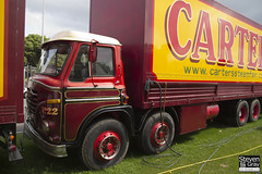 Foden S34 8x4 Box - Red & Gold - John Carter & Sons - SUP 71E - Weston Super Mare - Steven Gray - IMG_1299