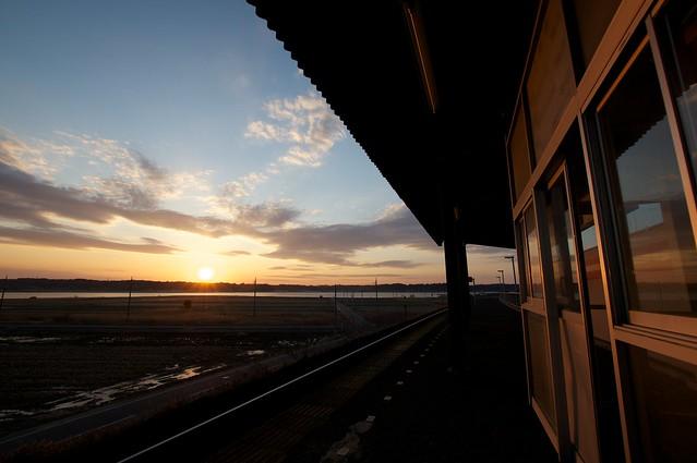 北浦湖畔駅 Kitaurakohan Sta.
