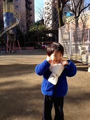 朝の散歩 2013/2/23