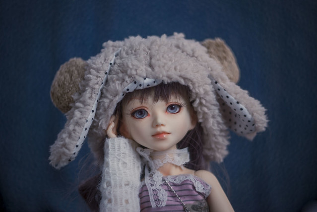 A Doll a day - Saturday - Blue
