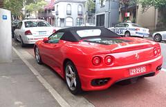 ferrari 550(0.0), ferrari f355(0.0), ferrari 575m maranello(0.0), race car(1.0), automobile(1.0), automotive exterior(1.0), ferrari 550 maranello(1.0), vehicle(1.0), automotive design(1.0), ferrari 360(1.0), bumper(1.0), ferrari s.p.a.(1.0), land vehicle(1.0), luxury vehicle(1.0), supercar(1.0), sports car(1.0),