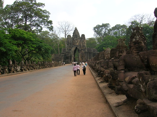 Siem Reap Path to Angkor Wat