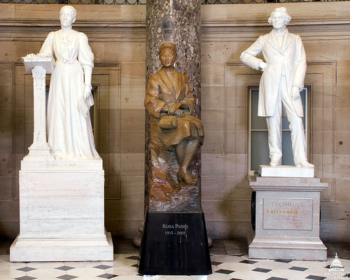 Rosa Parks statue in National Statuary Hall