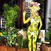 Zeta Bar Secret Garden bodypainting