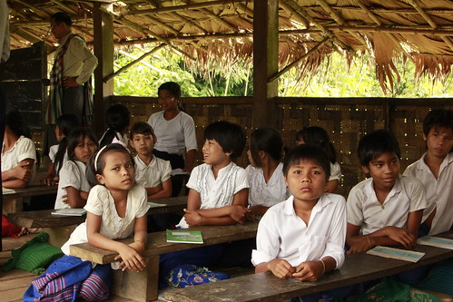 School children, Myanmar