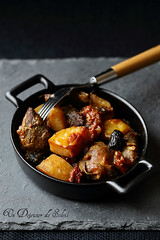 Tava: lamb with potatoes and tomatoes