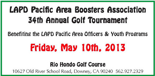 LAPD Pacific 34th Annual Golf Tournament
