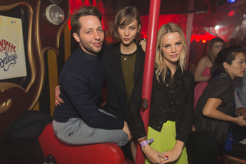 Derek Blasberg - Karlie Kloss - Kelly Sawyer