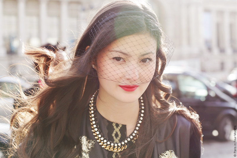 Peony Lim at Paris Fashion Week FW13 by Carin Olsson (Paris in Four Months)