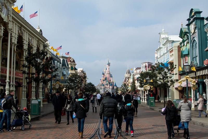 Disneyland Paris Main Street