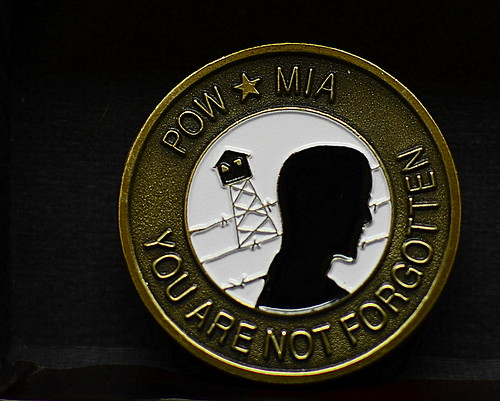 POW*MIA Medallion