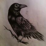 Minas originalskiss till tatueringen