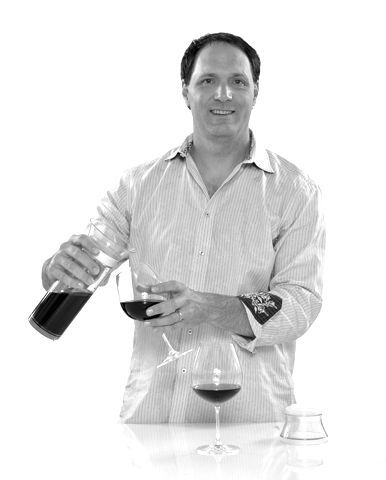 Scott Tavenner creator of the Savino wine saver system.