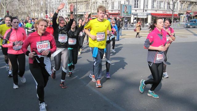 paris half marathon 2013