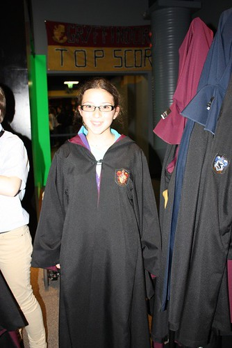Sarah at Harry Potter Studio, London