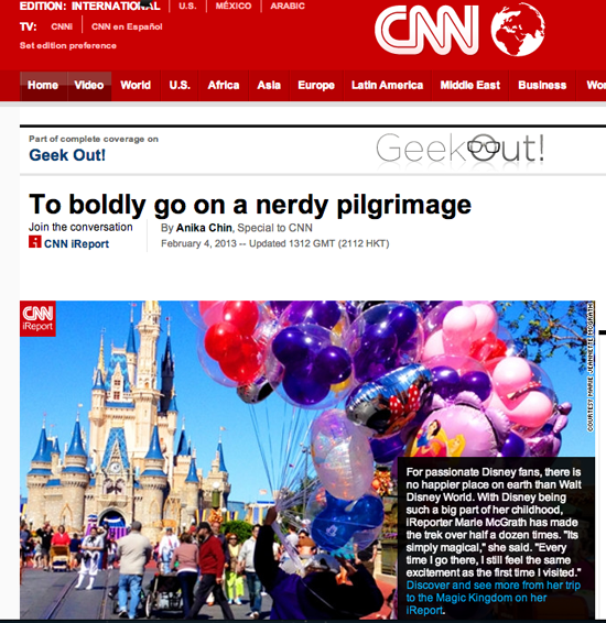 Featured On: CNN iReport