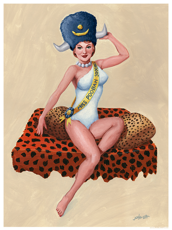 Wilma Pin-Up