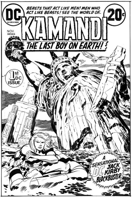 Kamandi 1 cover by Jack Kirby