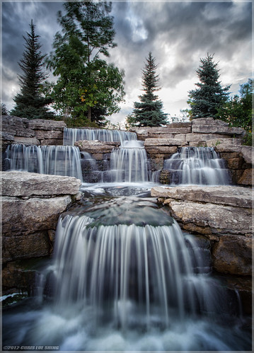 park longexposure trees sunset sky ontario canada clouds waterfall wind tripod explore richmondgreen richmondhill ndfilter nd8 explored tamron1935f3545 nikond700 ©chrislueshing