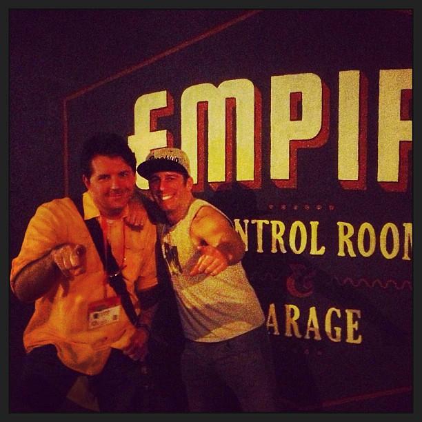 Josh & Terminator Dave
