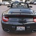 2012 Porsche 911 Turbo S Cabriolet Basalt Black 997 in Beverly Hills @porscheconnection 1047