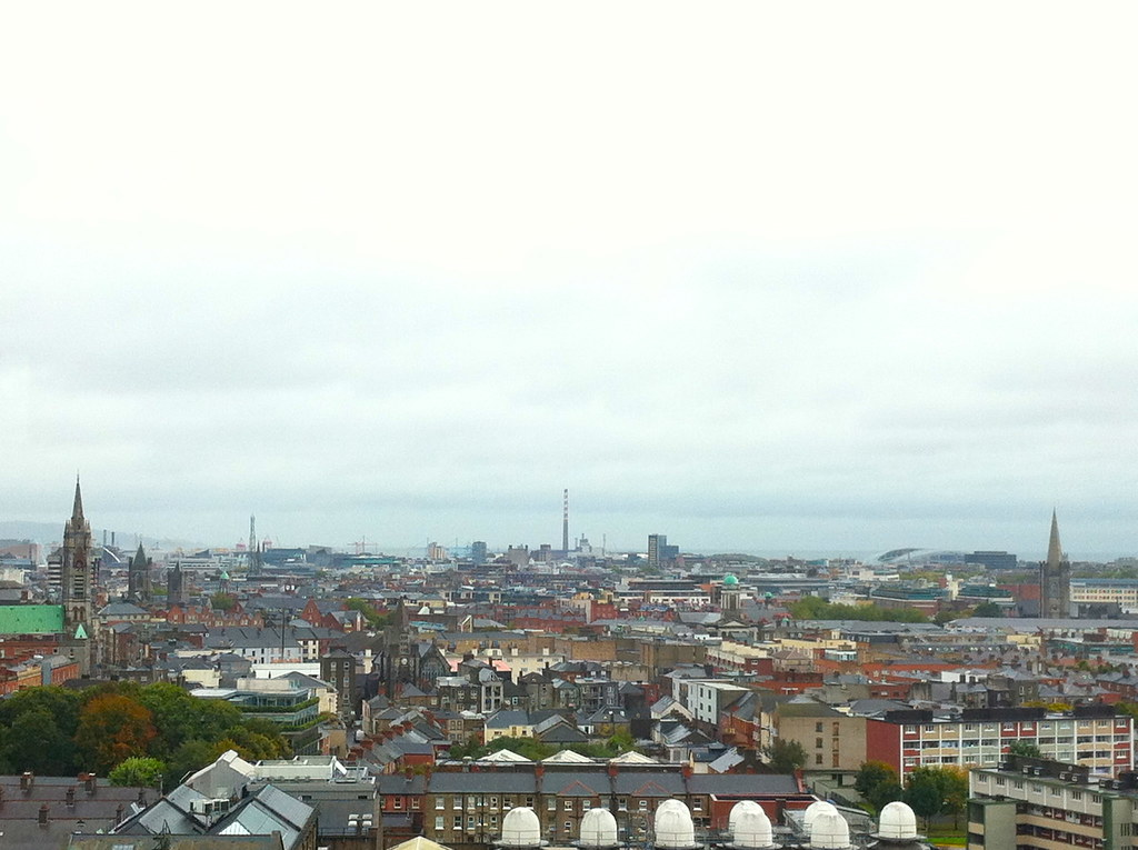 View from Sky Bar at Guinness