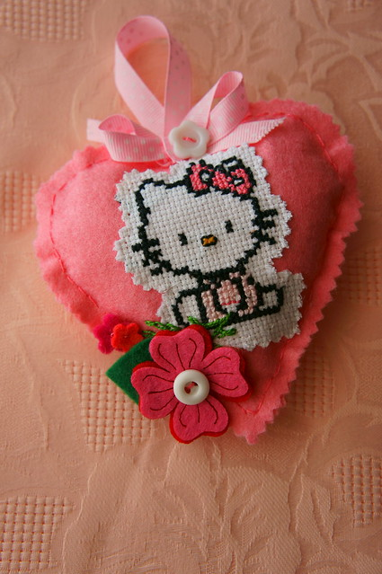 Corazón rosa.