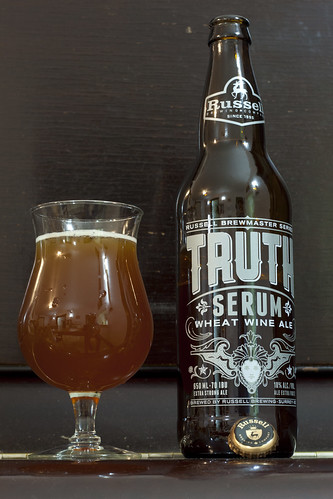 Review: Russell Truth Serum Wheat Wine by Cody La Bière