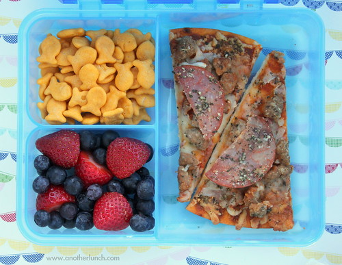 Gerber mealtime box - pizza lunch