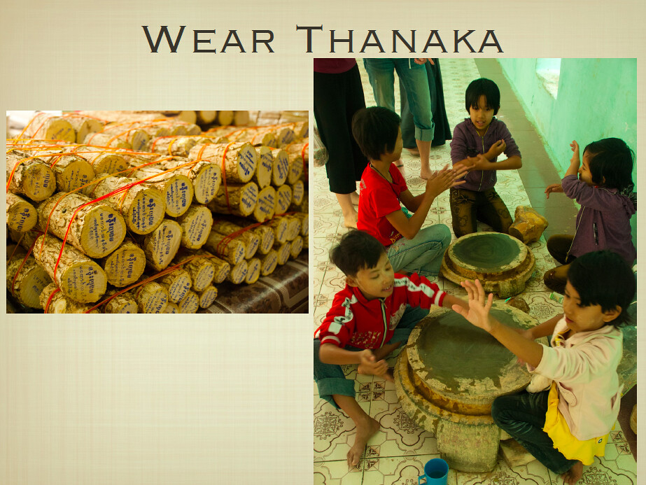 All About Myanmar - Thanaka